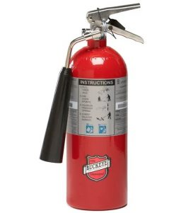 10 pound Carbon Dioxide Fire Extinguisher