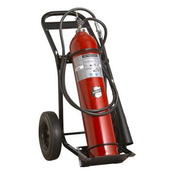 100 lb. Carbon Dioxide Wheeled Fire Extinguisher