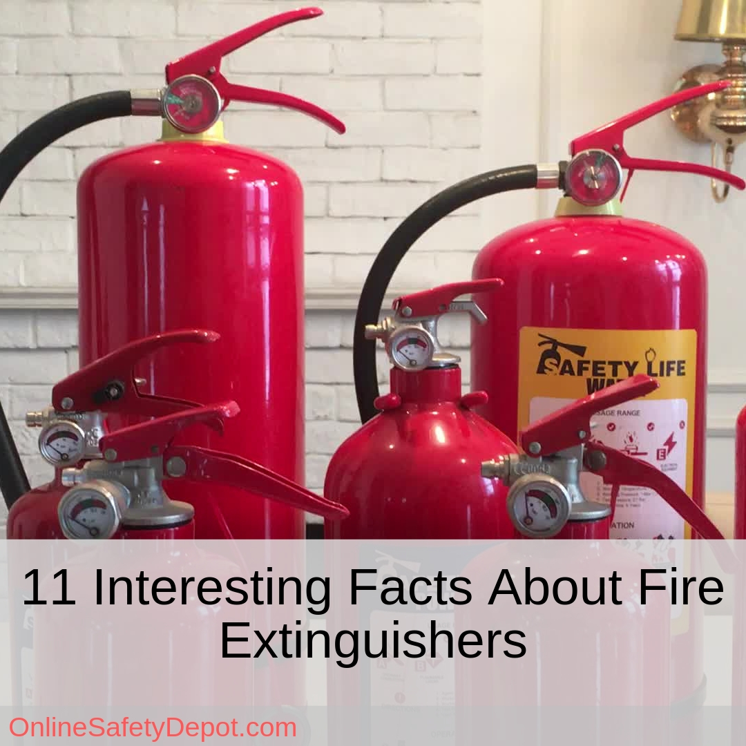 11 Interesting Facts About Fire Extinguishers