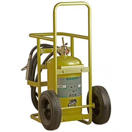 150 lb Buckeye Halotron Wheeled Fire Extinguisher