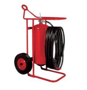 Badger Wheeled 125 pound ABC-Class Extinguisher
