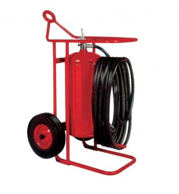 Buckeye Offshore Wheeled Fire Extinguisher Model OS A-150-RG, 125 lb. ABC Dry Chemical Agent Regulated Pressure (31480)