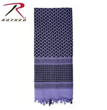 Rothco Lightweight 100% Cotton Shemagh Tactical Desert Scarf Purple