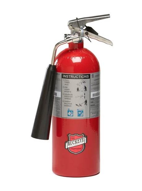 5 pound Carbon Dioxide Fire Extinguisher