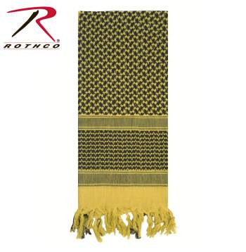 Rothco 100% Cotton Shemagh Tactical Desert Scarf Desert Sand
