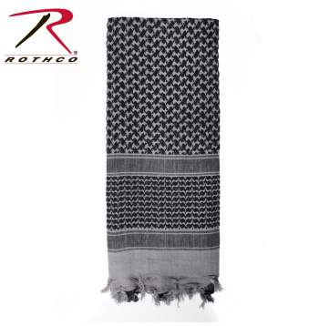 Rothco 100% Cotton Shemagh Tactical Desert Scarf Grey
