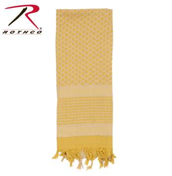Rothco 100% Cotton Shemagh Tactical Desert Scarf Desert Sand/Tan