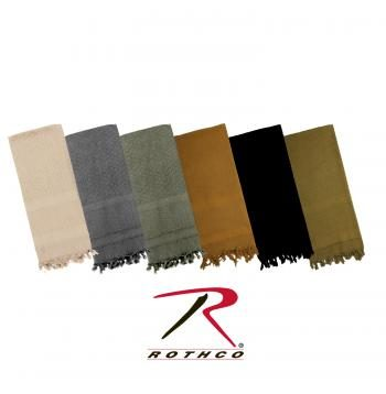 Rothco 100% Cotton Solid Shemaghs Tactical Desert Scarf Main Image