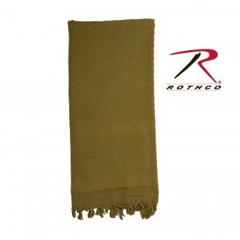 Rothco 100% Cotton Solid Shemaghs Tactical Desert Scarf Olive Drab