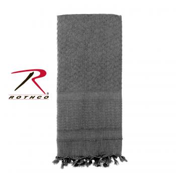 Rothco 100% Cotton Solid Shemaghs Tactical Desert Scarf Grey