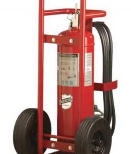 Buckeye 50 lb ABC Stored Pressure Wheeled Extinguisher
