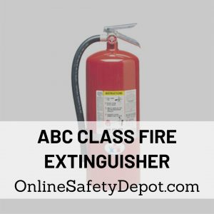 ABC Class Fire Extinguisher