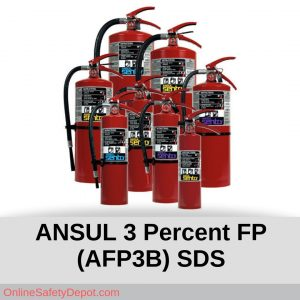 ANSUL 3 Percent FP (AFP3B)