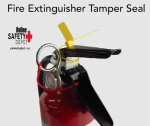 Fire Extinguisher Tamper Seal