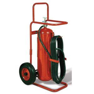 Badger 50lb Wheeled fire extinguisher Purple K