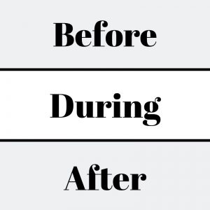 Before during After disaster
