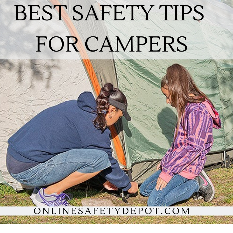 Best Safety Tips for Campers
