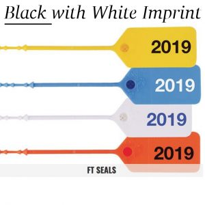 Black-White FT Flame Tamper Seals for Fire Extinguishers