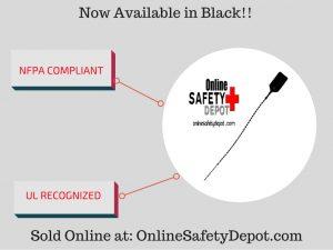 Fire Extinguisher Tamper Seal - Black