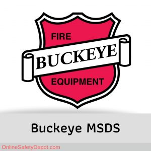 Buckeye Fire Equipment MSDS