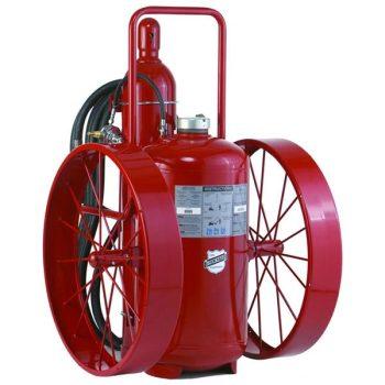 Buckeye Model S-350-RG-R 350 lb. Standard Dry Chemical Agent Regulated Pressure Wheeled Fire Extinguisher (32240)