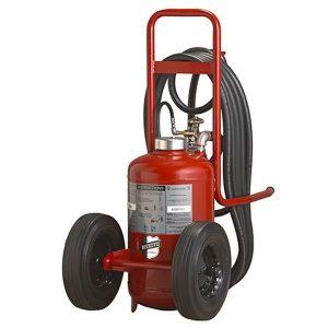 Buckeye Offshore Model OS K-150-PT 125 lb. Purple K Dry Chemical Agent Stored Pressure Wheeled Fire Extinguisher (31590)