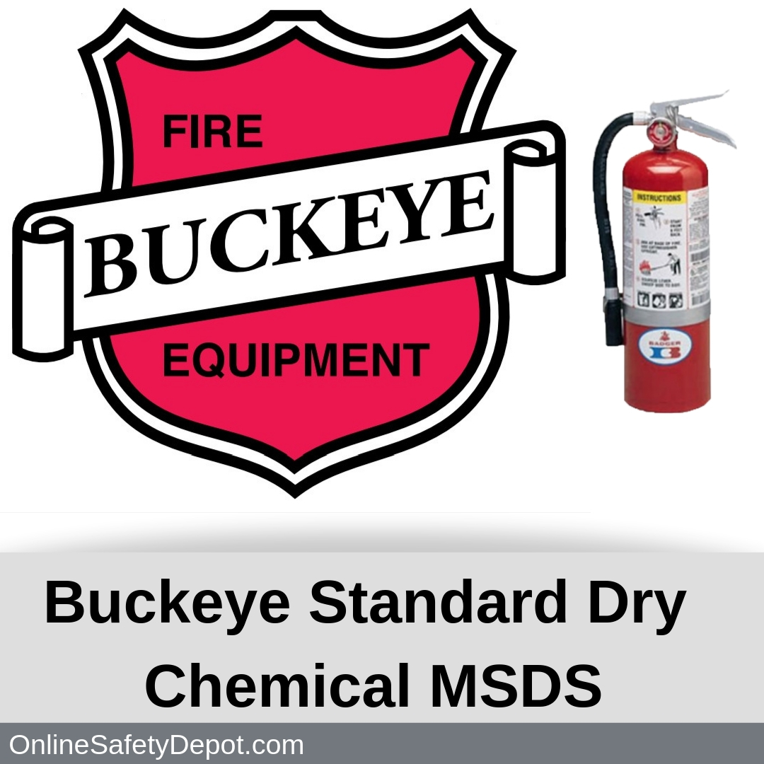Buckeye Standard Dry Chemical MSDS