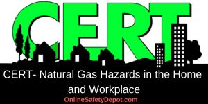 CERT- Natural Gas Hazards in the Home and Workplace