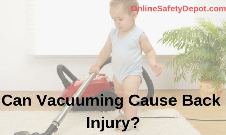 Can Vacuuming Cause Back Injury?