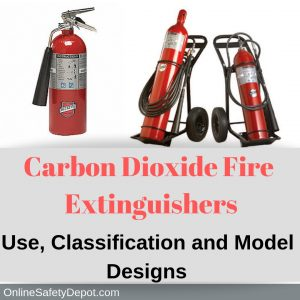 Carbon Dioxide Fire Extinguishers (C02) | Use, Classification and Model Designs