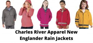 Charles River Rain Jackets for the whole Family