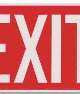 Commercial Emergency Exit Sign