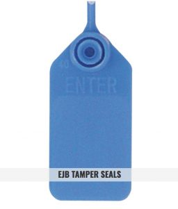 EJB - Blue Tamper Seals