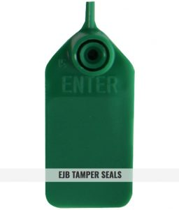EJB - Green Tamper Seals