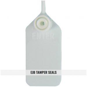 EJB - White Tamper Seals