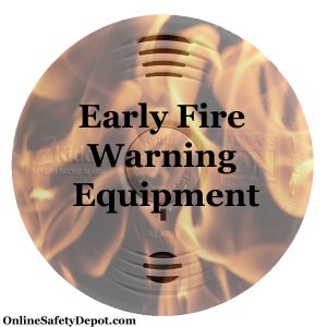 Early Fire Warning Equipment|OnlineSafetyDepot