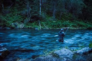 Fast Fishing river