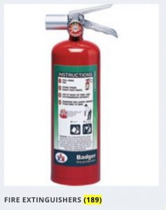 Fire Extinguisher Image Category