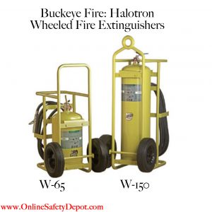 Fire Extinguishers for Aircraft Hangars