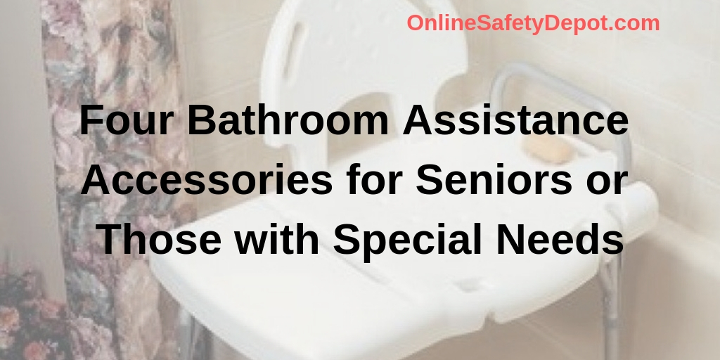 Four Bathroom Assistance Accessories for Seniors or Those with Special Needs
