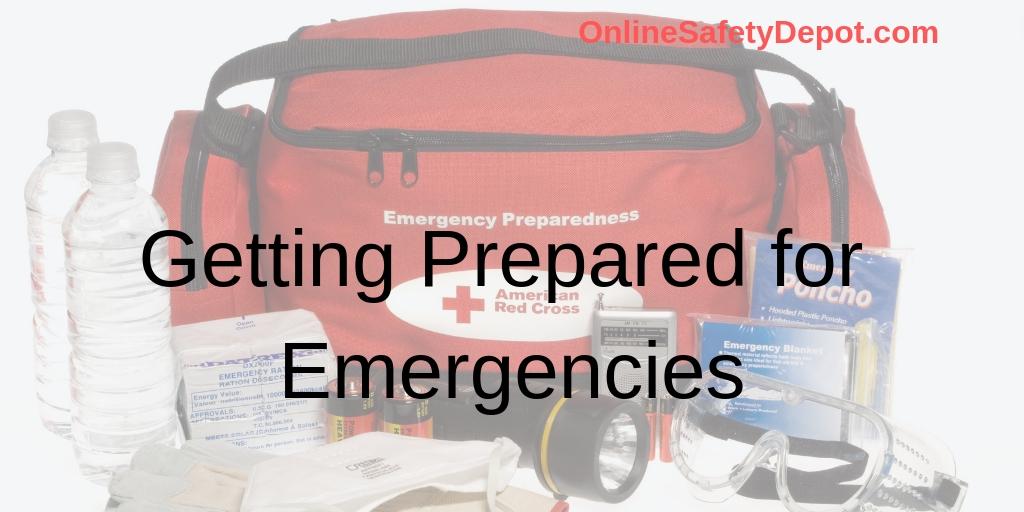 Getting Prepared for Emergencies