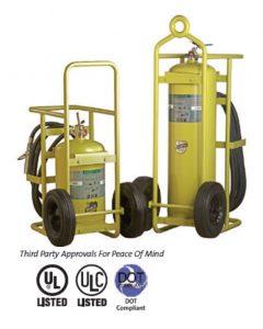 Halotron Wheeled Fire Extinguishers