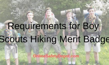 Requirements for Boy Scouts Hiking Merit Badge