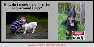 How do I teach my kids to be safe around Dogs?