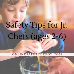 How to Cook with kids - Safety for Jr. Chefs (ages 2-6)