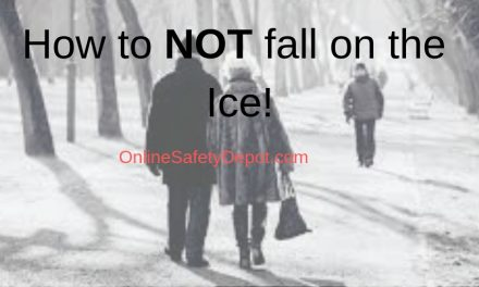 How to NOT fall on the Ice!