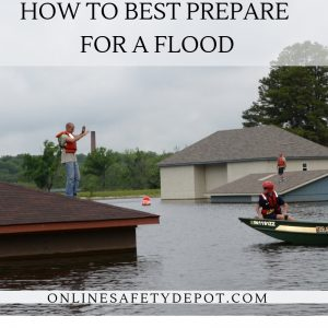 How to best prepare for a flood