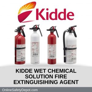 KIDDE WET CHEMICAL SOLUTION FIRE EXTINGUISIHING AGENT