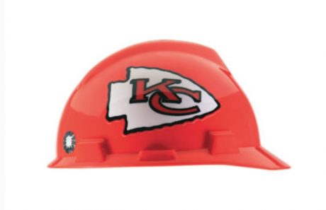 Kansas City Chiefs Construction Hard Hat