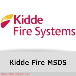 Kidde Material Safety Data Sheets